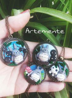 """Collane cameo """"il mio amico Totoro"""""""