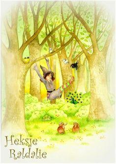 Mirjam Hakvoort schreef het kinderboek 'Het heksje Raldali',  Evy Dewulf illustreerde het. Het boek gaat over en lieve heks die dieren helpt in het bos. Verkrijgbaar bij Bruna in Zevenaar.