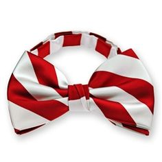 Red and White Bowtie