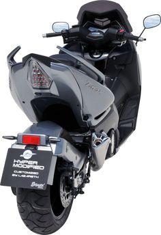 Yamaha T-Max 530 modifié par Lazareth et Ermax /// Yamaha Tmax 530 scooter tuned by Lazareth and Ermax