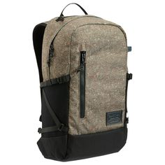 Despite it's modern, slim profile, Burton's Prospect Backpack is big on space and organization. The bag features an ample main compartment with a padded laptop sleeve pocket, smart organization and pl