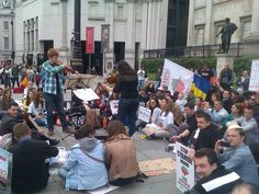 Concert in London- for the Rosia Montana protest Concerts In London, Romania, Montana, Street View, Culture, Flathead Lake Montana