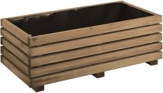 A beautifully simple styled planter. Made from horizontally fixed pieces of Pine, and raised off the ground with three feet, our Basique Küb range is a contemporary design that's available in two very popular sizes. H:280mm, W:800mm D: 400mm