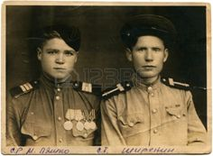 USSR Sergeants of Soviet Army in during the 1940s