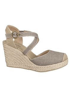 Allison Closed Toe Wedge Wedges Shoes Summer