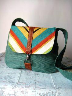 South Beach-- crossbody messenger bag