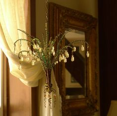 A Lily Sunshower Chandelier by BellStudios on Etsy