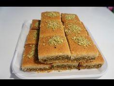 طريقه صنع معمول المد بالفستق الحلبي Dessert Recipes Lebanese Desserts Middle Eastern Desserts