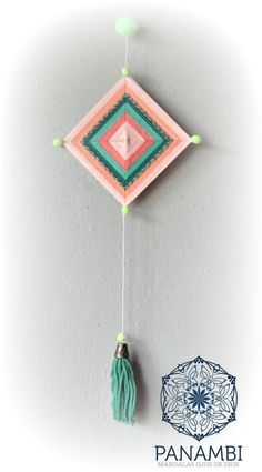 Diy Crafts Hacks, Diy Home Crafts, Yarn Crafts, Arts And Crafts, Craft Activities For Kids, Crafts For Teens, God's Eye Craft, Hippie Crafts, Knit Art