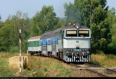 RailPictures.Net Photo: CD 754 031 3 Ceske Drahy CD 754 at Hodnov, Czech Republic by Jaroslav Dvorak
