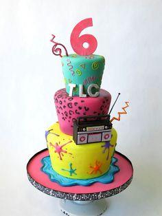 90s cake by the ALWAYS amazing Courtney Clark