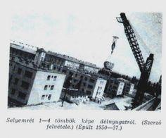 Selyemrét 1 - 4 tömbök fotó: ifj. Horváth Béla forrás: Borsodi Műszaki Élet 1957 okt.