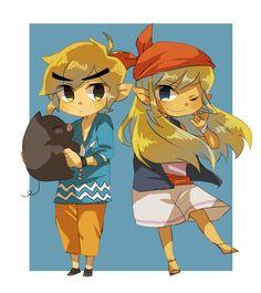 Link & Tetra
