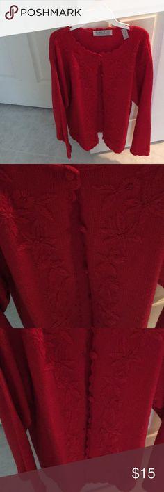 I just added this listing on Poshmark: Karen Scott cardigan sweater. #shopmycloset #poshmark #fashion #shopping #style #forsale #Karen Scott #Sweaters