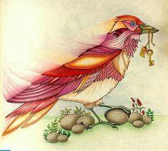 Pássaro surreal