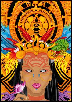 ixchel mayan goddess - Google Search