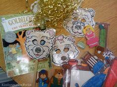 KindergartenWorks: retell literacy center activity - Goldilocks and the Three Bears Kindergarten Language Arts, Preschool Books, Kindergarten Literacy, Early Literacy, Literacy Activities, Bears Preschool, Nursery Activities, Educational Activities, Activity Centers