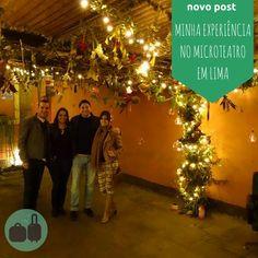 Posts atualizados no blog! Conto sobre meu primeiro contato com o Microteatro, uma das várias surpresas que Lima me reservou...      #trip #viagem #passageira #traveller #tripping #road #fly #viajantes #mochilao #mochileiros #turistar #turistando #turistas #rsbloggers #blogdeviagem #travelblog #travelblogger  www.passageira.com.br