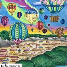 #eriy #romanticcountry #adultcoloring --> For the most popular adult coloring books and writing utensils including gel pens, colored pencils, watercolors and drawing markers, check out our website at http://ColoringToolkit.com. Color... Relax... Chill.