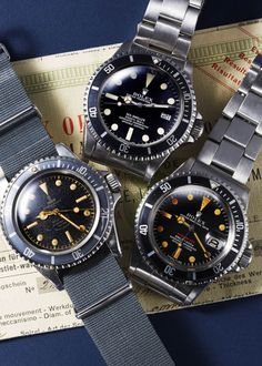 ROLEX SUB and so on