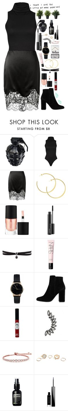"""""""I think I love you"""" by ingridballo ❤ liked on Polyvore featuring MollaSpace, Givenchy, MAKE UP FOR EVER, MAC Cosmetics, Fallon, NARS Cosmetics, Freedom To Exist, MANGO, CARAT* London and GUESS"""
