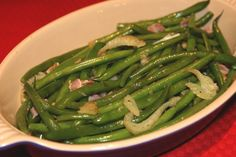 Braised Green Beans & Fennel