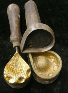 antique silk flower making mold&cutter https://www.facebook.com/YapayCicekKaliplari