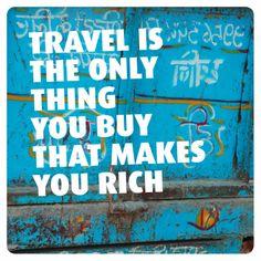 Kaartje voor reizigers of mensen die graag reizen en op vakantie gaan. Te vinden op: https://www.kaartje2go.nl/spreukenkaarten