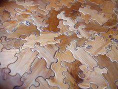 Kiwi's 3D Freeform Wood Floor Teems With Pond Life