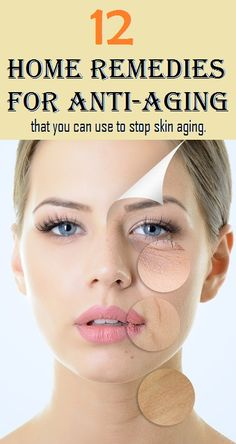 12 Home remedies for Anti Aging..