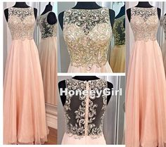 Prom Dress,Grace Prom Dress,Light Pink Prom Dress,Handmade Prom Dress,A Line Prom Dress,Beaded Prom Dress,Sequin Prom Dress,Pretty Prom Dress,Long Prom Dress,Elegant Prom Chiffon Prom Dress HG245