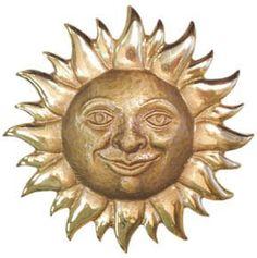 Sun Faces Decor