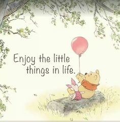 Enjoy the little things in life!