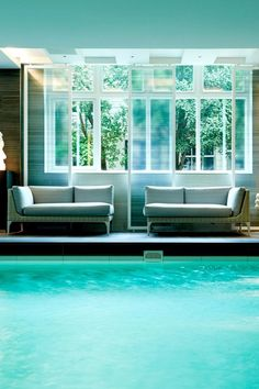 It's never too early for a dip. Waldorf Astoria Amsterdam (Amsterdam, Netherlands) - Jetsetter
