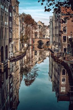 Utrecht, the Netherlands Netherlands Holland Travel Destinations Utrecht, Haarlem Netherlands, Holland Netherlands, Places To Travel, Places To See, Travel Destinations, Places Around The World, Around The Worlds, Reflection Pictures