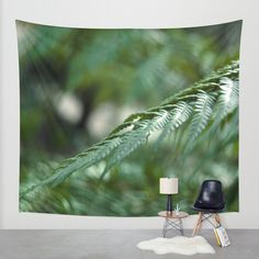 between green Wall Tapestry by VanessaGF | Society6
