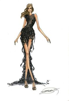 #fashion #illustration by Eva