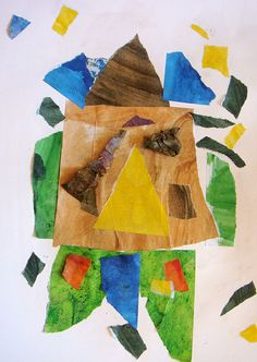 ERIC CARLE PAINTED PAPER