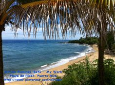 Rincon, Puerto Rico.  I took this picture in Sept 2013,♥LP-MRS♥  Esta foto la tome en la mañana y en la tarde comenzo a llover fuerte. LOL asi es mi bello Puerto Rico.