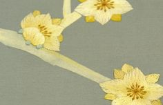 Fromental - Salamander  hand painted & embroidered wallpaper