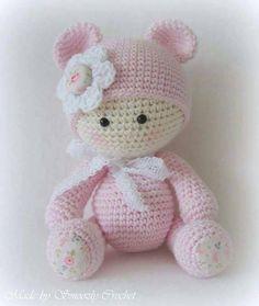 #uncinetto #amigurumi #baby #doll