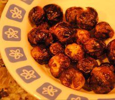 Geroosterde spruitjes uit de oven @ http://allrecipes.nl