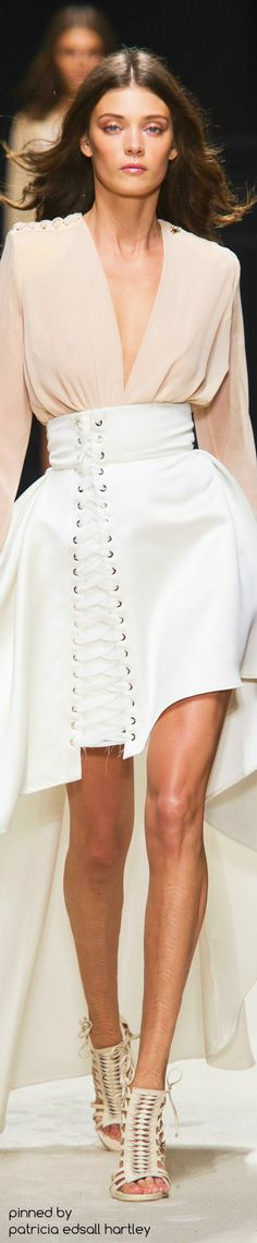 Elisabetta Franchi Spring 2016 RTW Fashion Show  THAT SKIRT THO  @imsimplydrea what you think