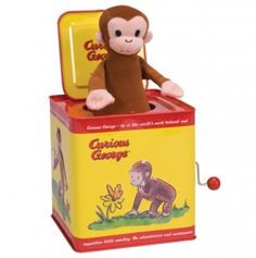 Curious George Jack Box.. my daughter had this!