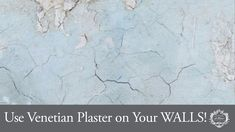 Amanda Howard, How To Make Plaster, Venetian Plaster Walls, Painting Old Furniture, Wall Finishes, Milk Paint, Home Repair, Painting Tips, Natural Looks