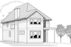 Exterior - Front Elevation Plan #423-9 - Houseplans.com