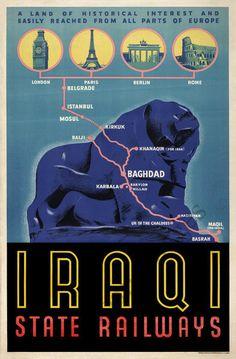 Iraq, Iraqi State Railways