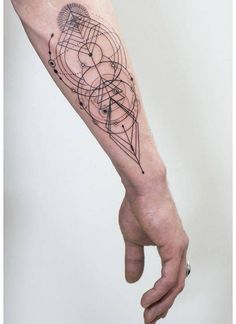 Perfect Geometric Arm Tattoos for Men