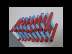 Teknoloji ve tasarım geometrik şekiller düzen örnekleri