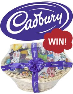 Win a birthday cake cake toppers for your next celebration from just in time for easter we have two cadbury easter gift hampers worth 10000 each to negle Choice Image